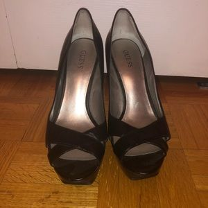 Guess Open-Toe Heels